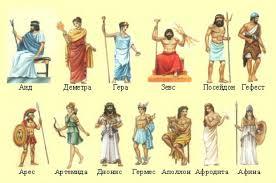 Древнегреческих богов